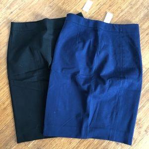 NWT gap pencil skirts size 2